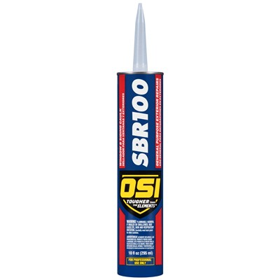 SBR 100 WIN & SIDING CAULK VOC BRNZ 10oz