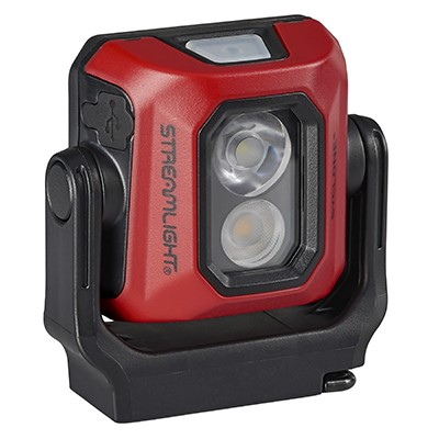 SYCLONE COMPACT WORK LIGHT RED